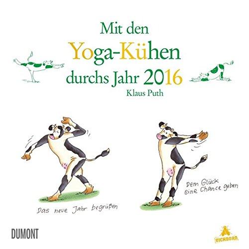 Mit den Yoga-Kühen durchs Jahr 2016
