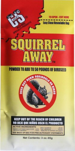 C and S Products 3-Ounce Squirrel Away, 12-Piece, My Pet Supplies