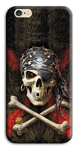 Mixroom - Cover Custodia Case In TPU Silicone Morbida Per Apple Iphone SE M3526 Techio Pirata Con Bandana