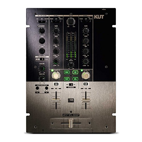 Reloop Kut profesional de 2canal Scratch/Battle DJ Mixer Oro/Negro