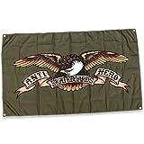 Antihero Skateboards Eagle Cloth Banner (Army) 36'' x 60''