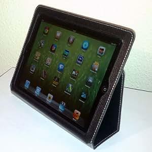 Yoobao - Funda de cuero ejecutiva para iPad 2 color negro