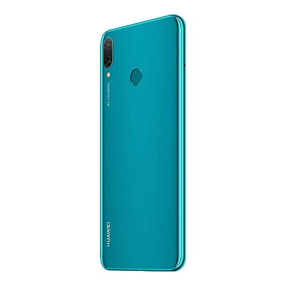 Huawei Y9 2019 (JKM-LX2) 4GB / 64GB 6 5-inches Dual SIM Factory Unlocked -  International Stock No Warranty (Sapphire Blue)
