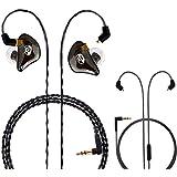 1d8dea9b9d7 BASN Professional in-Ear Monitor Headphones for Singers Drummers Musicians  with MMCX Connector Earphones