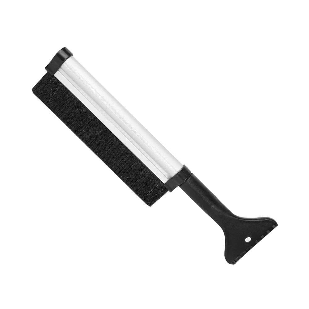 BJ-SHOP Ice Scraper, Snow Brush Windscreen Scraper Telescopic Snow Removal Winter Car Non-slip Grip Squeegee Car Window De-icer Tool