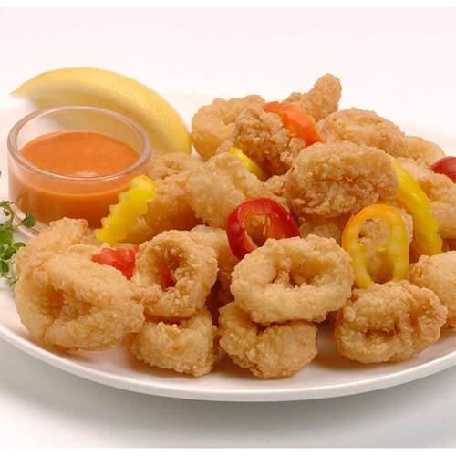Tampa Maid Diptn Dusted Breaded Calamari Ring, 2 Pound -- 6 per case.