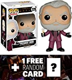 The Hunger Games President Snow: Funko POP! x Vinyl Figure + 1 Free Hunger Games Trading Card Bundle [61883]
