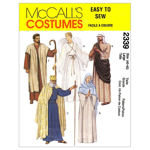 McCall's Sewing Pattern M2339 2339 Misses Mens XSmall Chest Size 30 1/2 - 31 1/2