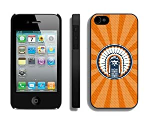 Iphone 4/4s Case Cover Ncaa Illinois Fighting Illini Designer Cell Phone Protector