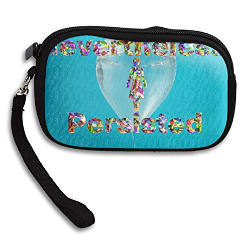 Nevertheless Purse Portable Deluxe Receiving Bag Persisted Printing Small She XwrqaX