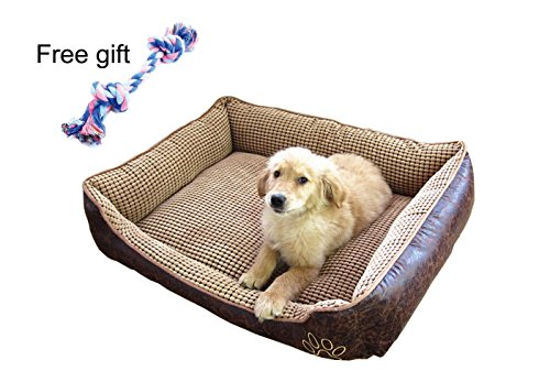 MIWIND Cat or Dog Bed by Trendy Pet Design to Fit any Pet and Home |Easy-to-Clean, 100% Machine Washable.Can be used both sides.--77 - Fab Dog Designer
