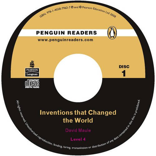 PLPR4:Inventions that Changed the World CD for Pack (Penguin Readers (Graded Readers))