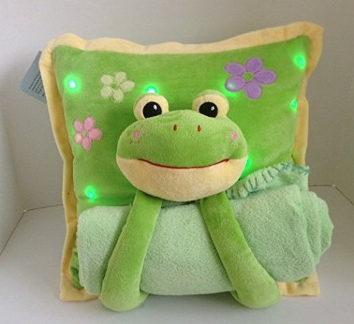 Froggy Pillow - Juzt For Kids Lullaby Light Up Pillow - Froggy