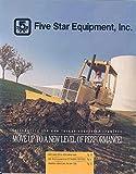 1993 John Deere 644E Loader Excavator Backhoe Brochure