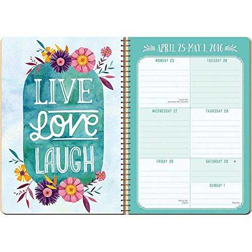 Live the Life You Have Imagined 2016 Softcover Weekly by Orange Circle Studios