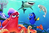 Ravensburger Finding Dory 24 Piece Giant Floor Jigsaw Puzzle for Kids – Every Piece is Unique, Pieces Fit Together Perfectly