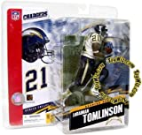 NFL Series 12 Figure Ladanian Tomlinson San Diego Chargers White Jersey