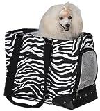 Z & Z Wild Side Pet Carrier Sm Zebra