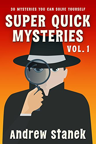Super Quick Mysteries by Andrew Stanek ebook deal