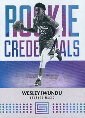 Amazon.com: 2017-18 Panini Status Rookie Credentials #15 Wesley Iwundu Orlando Magic Basketball Card: Collectibles & Fine Art