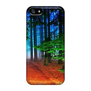 SNI11043EGop Cases Covers, Fashionable Iphone 5/5s Cases - Path Through The Forest1