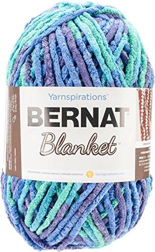 (Bernat Blanket Yarn, Ocean Shades)