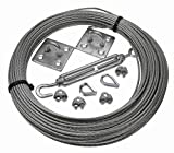 More Than Just Ropes 3mm Galvanised Steel Catenary Kits (0236548512356) - 10