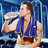 SINLAND Microfiber Fast Drying Gym Towels Sports