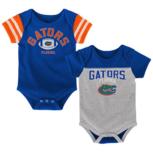Outerstuff NCAA Florida Gators Newborn & Infant Vintage Baby 2pc Bodysuit Set, Multi, 24 Months