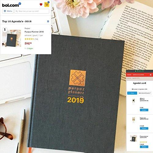 Purpuz planner 2019: Planner, agenda & lifecoach in een ...