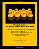 Why Is It So Hard to Keep All Your Ducks in a Row, Devaki Berkson, 1453778594