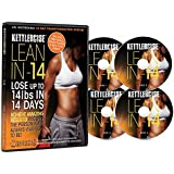 Kettlercise Lean In 14, 4 Disc DVD Collection - New Kettlebell Transformation Program for Beginners to Advanced