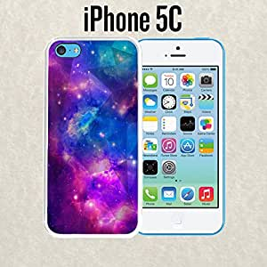 iPhone Case Geometric Galaxy for iPhone 5c Plastic White (Ships from CA)
