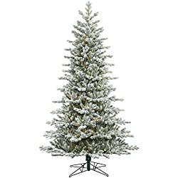 Vickerman Frosted Eastern Frasier Fir Christmas Tree