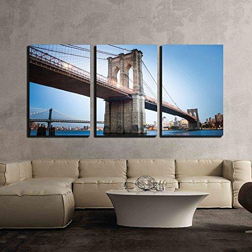 Brooklyn Bridge in New York City x3 Panels