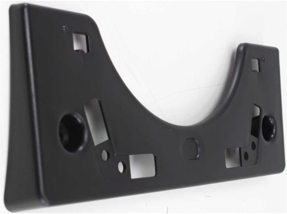 License Plate Bracket for Toyota Prius 04-09 Front Black Factory Installed Evan-Fischer