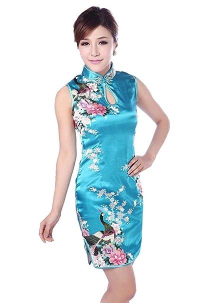 Abiti Da Cerimonia Di Marca.Abito Da Donna Abito Cheongsam Cinese Da Qipao Cerimonia Mode Di