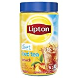 Lipton Iced Tea Mix, Diet Peach, 2.9 oz (Pack of 6)