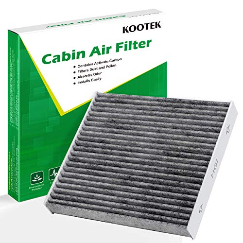 Kootek Cabin Air Filter for CF10285 Toyota/Lexus/Scion/Subaru, Active Carbon Against Bacteria Dust Viruses Pollen Gases Odors AT285