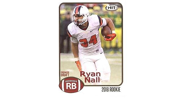 online retailer 35b04 5e1f7 Amazon.com: 2018 SAGE Hit Premier Draft #69 Ryan Nall NM-MT ...