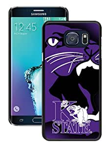 Unique Samsung Galaxy Note 5 Edge Case ,Fashionable And Popular Designed Case With NCAA Big 12 Conference Big12 Football Kansas State Wildcats 2 Black Samsung Galaxy Note 5 Edge Cover Case Good Quality Phone Case