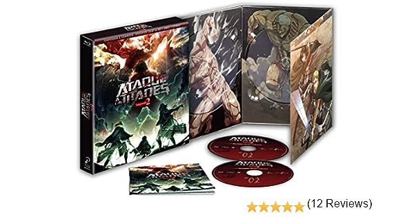 Ataque A Los Titanes Temporada 2. Episodios 1 A 12. Edición Coleccionista Blu-Ray Blu-ray: Amazon.es: Animación, Tetsurou Araki, Animación: Cine y Series TV