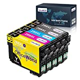 OfficeWorld Remanufactured Ink Cartridge Replacement for Epson 288 288xl T288xl 288 XL Used for Expression Home XP-440 XP-330 XP-340 XP-430 XP-446 XP-434 Printer, 5 Pack (2BK/1C/1Y/1M)