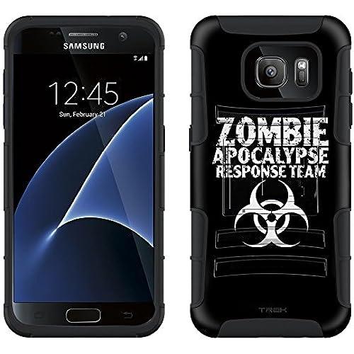 Samsung Galaxy S7 Armor Hybrid Case Zombie Apocalypse Response Team Black 2 Piece Case with Holster for Samsung Galaxy S7 Sales