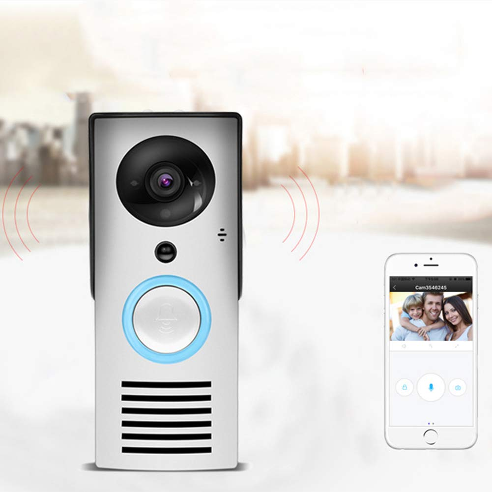 Wifi Video Doorbell Voice Intercom Waterproof 92 Degree HD Wireless Smart Doorbell Camera With Night Vision And PIR Motion Detection