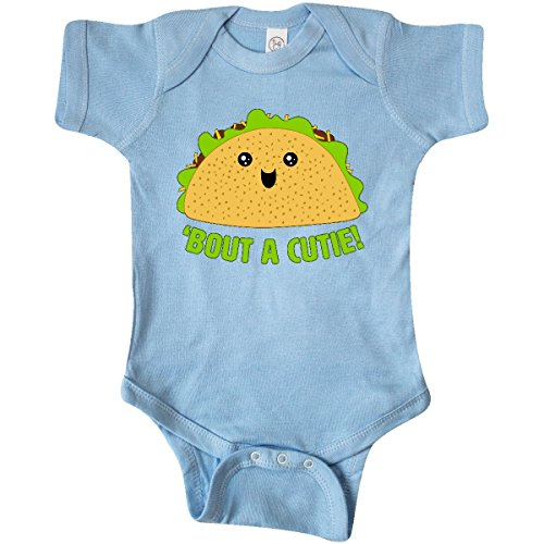 inktastic - Taco Bout a Cutie Cute Taco Infant Creeper 24 Months Baby Blue -