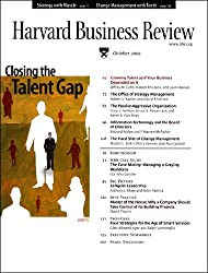 Harvard Business Review, October 2005