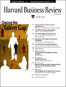 Harvard Business Review, October 2005 Periodical