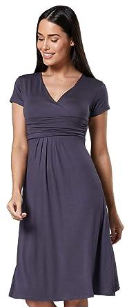 newest f1581 507e3 Zeta Ville - abito di maglina - manica corta - estivo vestito - donna - 108z