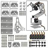 Diymore Silver ROT3U 6DOF Aluminium Robot Arm